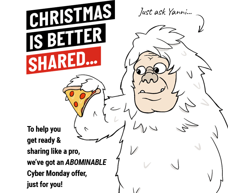 Christmas is better shared